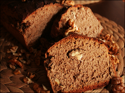 Recipe: Whole Wheat Walnut Bread